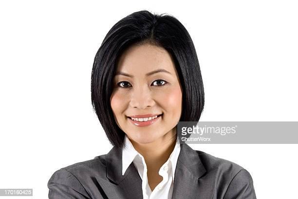 アジアビジネスウーマン - シンガポール文化 ストックフォトと画像