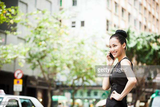 Asian Busineswoman in the City