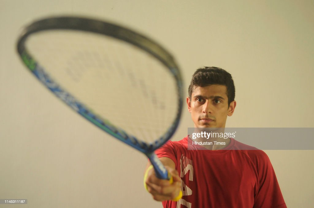 IND: Profile Shoot Of Squash Player Saurav Ghosal