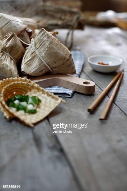 Asian Chinese Rice Dumpling