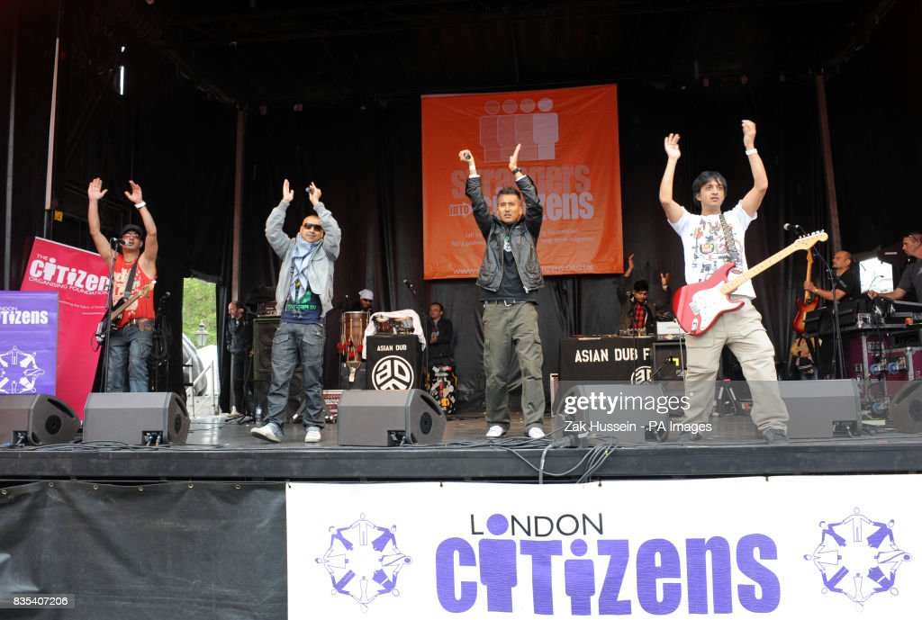 Asian dub foundation trafalgar square