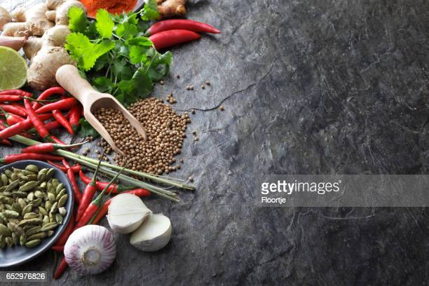 Asian Food: Asian Ingredients Still Life