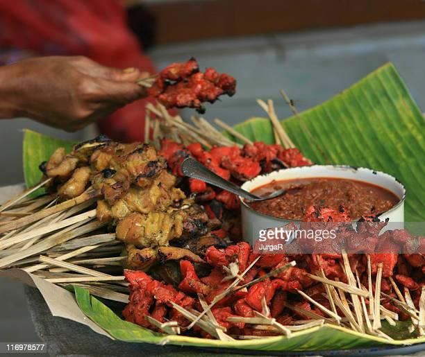 Asian Food At The Market