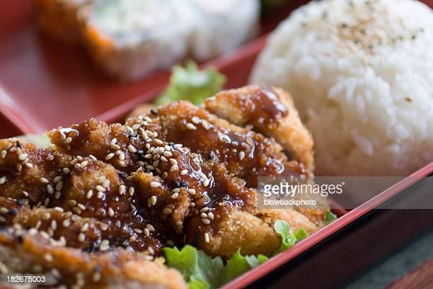 Asian Food: Tonkatsu
