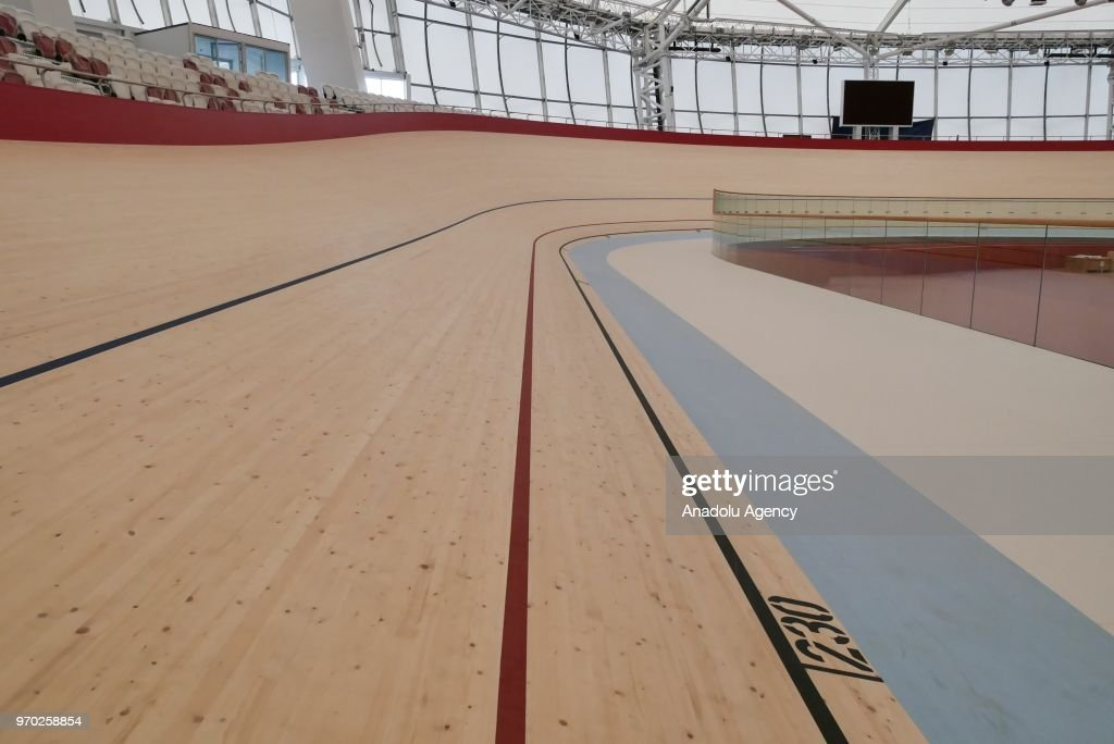 Asian Games  Venue Preparation At Velodrome In Jakarta Indonesia On June