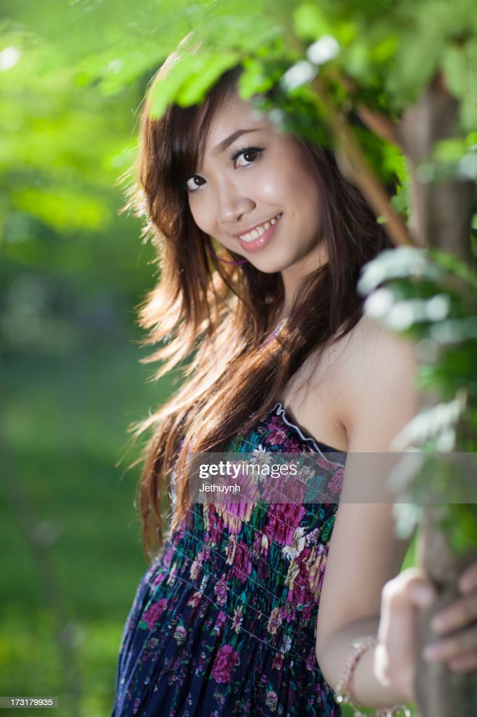 Asian Girl With Beautiful Smile Stock Photo - Getty Images-9722