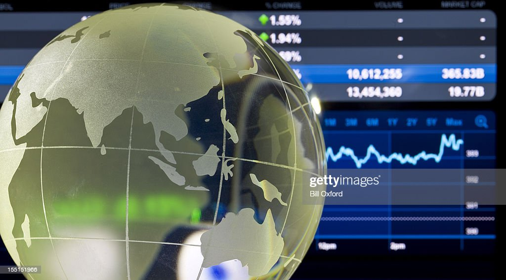 Asian Global Finance : Stock Photo