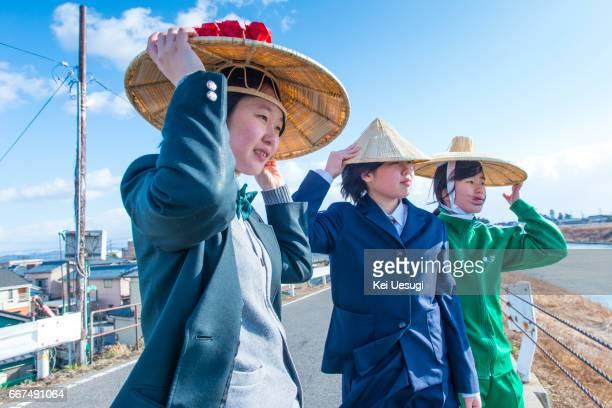 Asian local teen girls