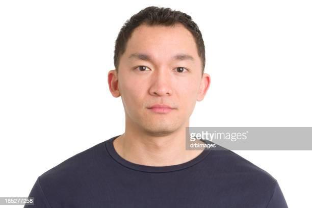 Asian Man Mug Shot