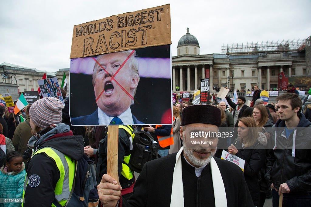 Anti-racism Day Demonstration London : News Photo