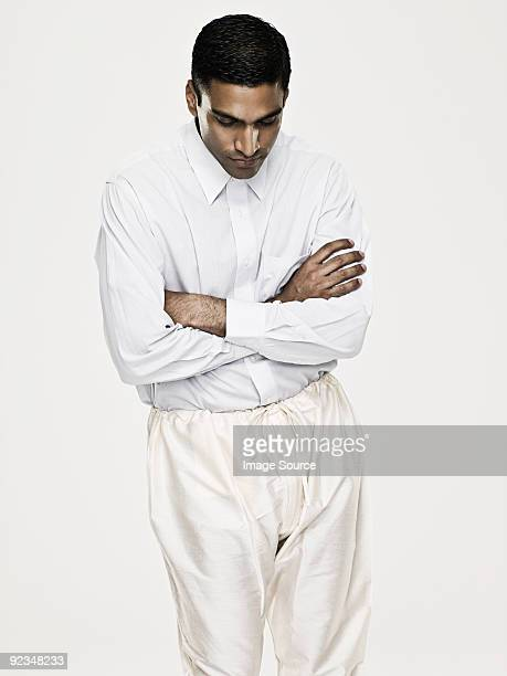 Asian man with crossed arms