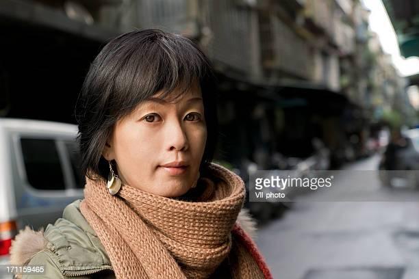 アジアの魅力的な成熟した女性