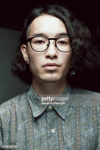 Asian men's Renaissance style portrait