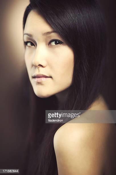 Asian Model Fashion Portrait