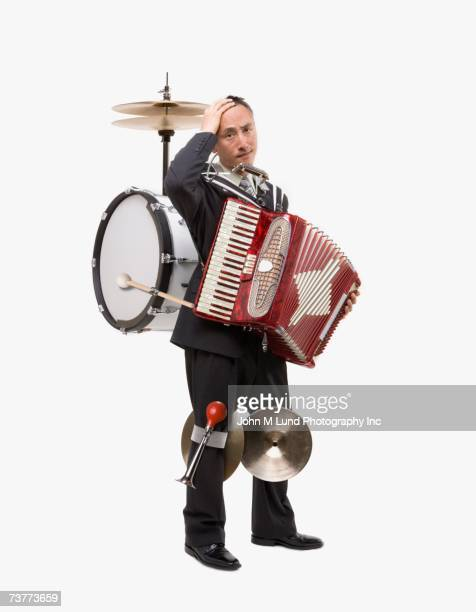 Asian one man band