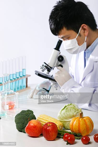 Asian people engaging in nurturing research