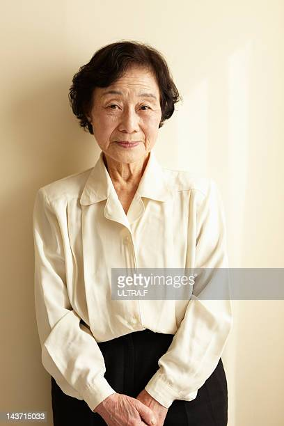 Asian senior woman