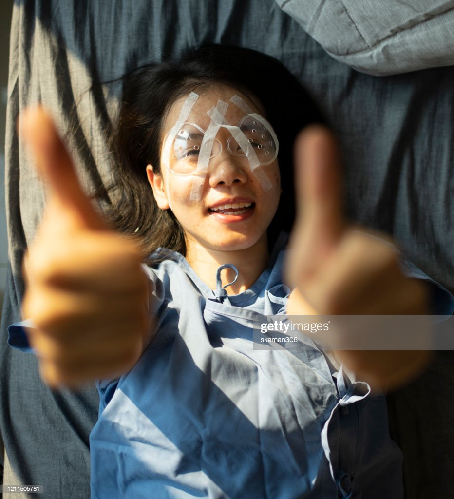 Asian Teen Female Wearing Cover Eye Equipment And Feeling Happy After Lasik Surgery High Res Stock Photo Getty Images Use them in commercial designs under lifetime, perpetual & worldwide rights. asian teen female wearing cover eye equipment and feeling happy after lasik surgery high res stock photo getty images