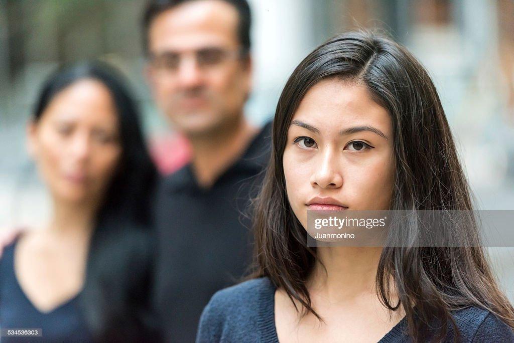 Asiatische Teenager Lieben Sich