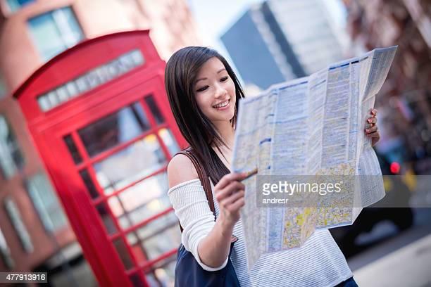 Asian tourist in London