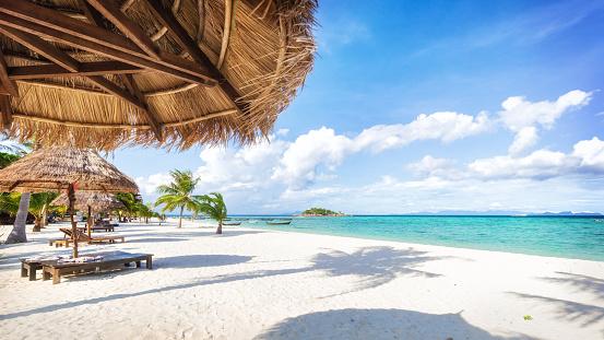 Asian tropical beach paradise in Thailand 1125854820