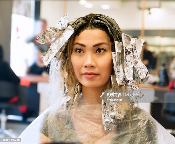 Bleaching Hair Stock Photos And Pictures