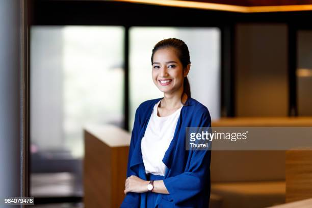 asian woman in modern office - malay stock photos and pictures
