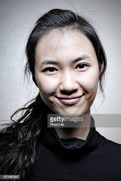 Asian Woman Portrait - XLarge