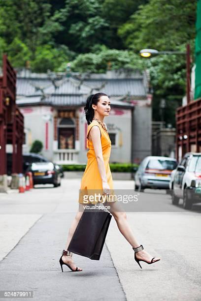 Asian Woman Shopping