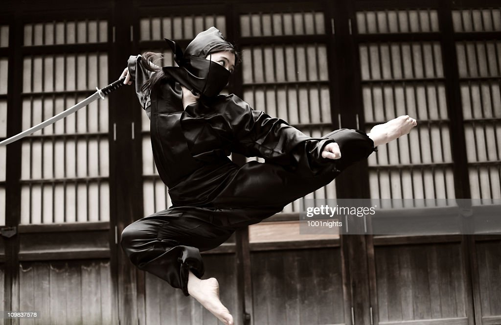 ninja stock photos and pictures getty images
