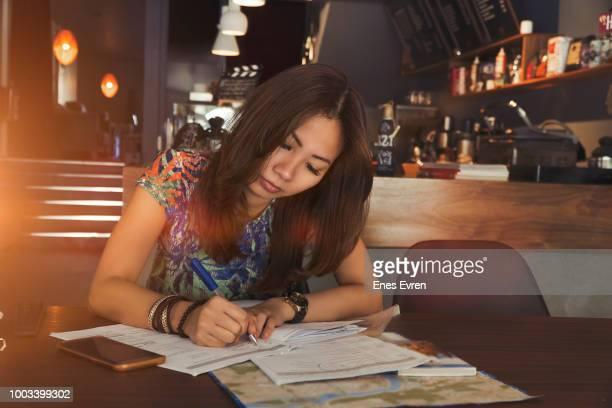 Asian woman socially responsible investing