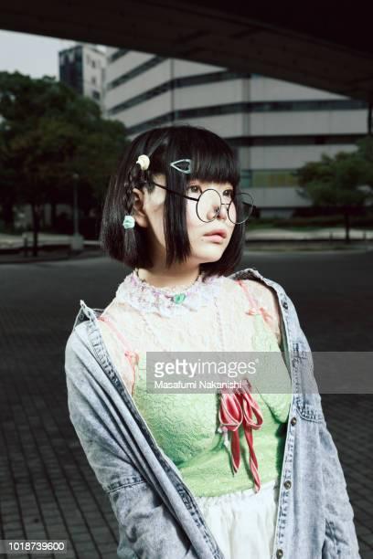 Asian women's Renaissance style portrait