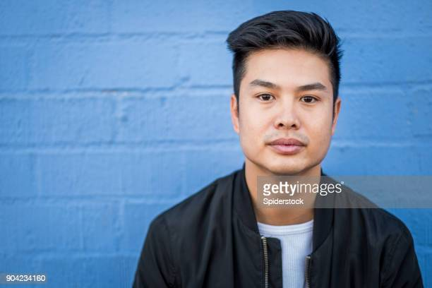 Asian Young Adult Hipster