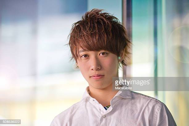 asian young boy's life style - mamigibbs stock photos and pictures