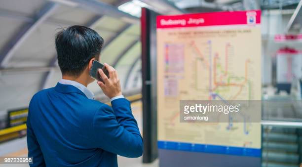 Man Looking At Subway Map.60 Top Subway Map Pictures Photos Images Getty Images
