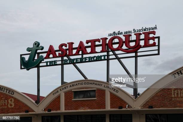 asiatique the riverfront - gwengoat stock pictures, royalty-free photos & images