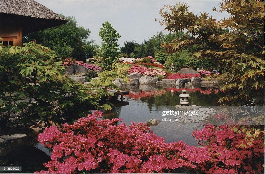 Asiatische Gartenkunst In Planten Un Blomen Am Rand Eines News