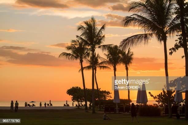 Asie, Bornéo, Malaisie, Sabah, Kota Kinabalu, Shangri-La Resort.