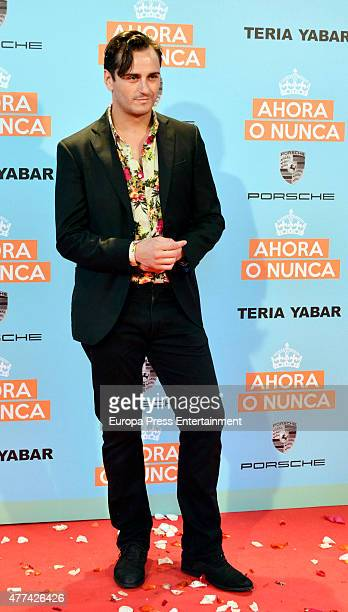 Asier Etxeandia attends 'Ahora o Nunca' premiere on June 16 2015 in Madrid Spain