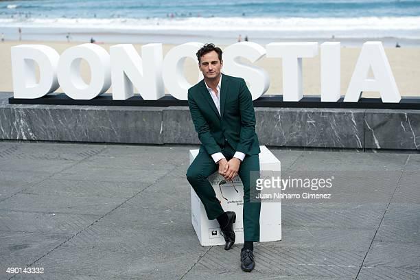 Asier Etxeandia attends 'La Novia' photocall during 63rd San Sebastian Film Festival at Kursaal on September 26 2015 in San Sebastian Spain