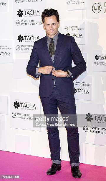 Asier Etxeandia attends the Tacha Beauty and Javier de Benito Institute party on May 31 2016 in Madrid Spain