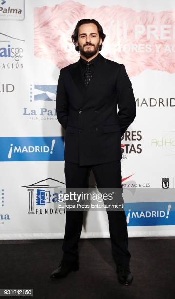 Asier Etxeandia attends the Union de Actores Awards at the Circo Price on March 12 2018 in Madrid Spain