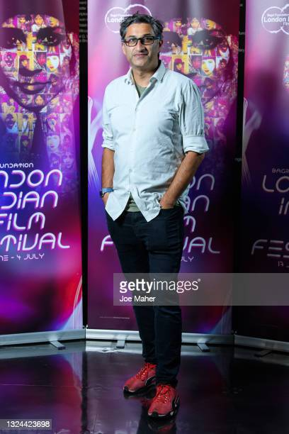 """Asif Kapadia attends """"The Warrior"""" screening during London Indian Film Festival 2021 at BFI Southbank on June 19, 2021 in London, England."""