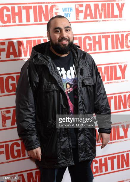 Asim Chaudhry attends the UK Premiere of Fighting With My Family at BFI Southbank on February 25 2019 in London England