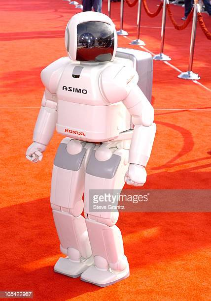 Asimo during 'Robots' Los Angeles Premiere Arrivals at Mann Village Theatre in Westwood California United States