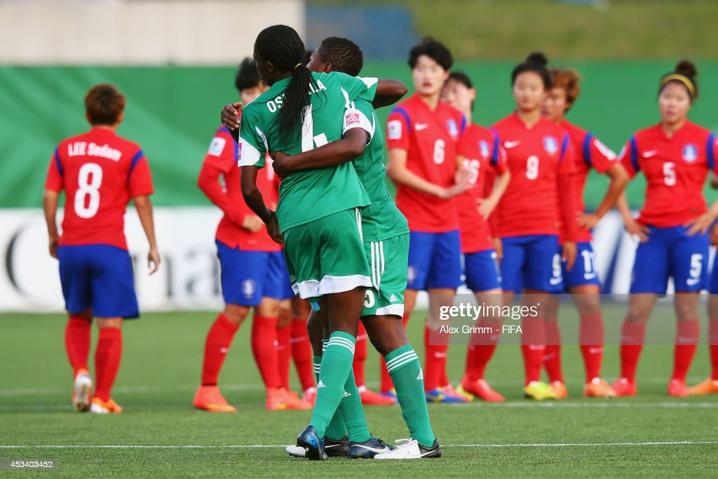 Korea Republic v Nigeria: Group C - FIFA U-20 Women's World Cup Canada 2014 : News Photo