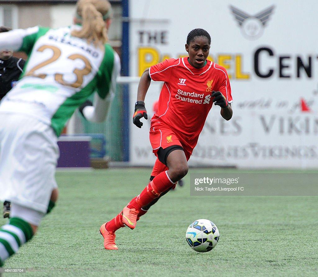 Liverpool Ladies v Yeovil Town Ladies: Pre-Season Friendly : News Photo