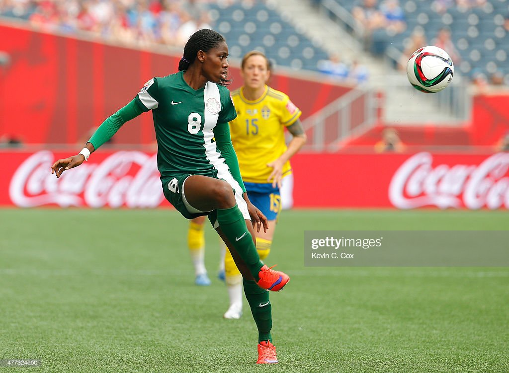 Sweden v Nigeria: Group D - FIFA Women's World Cup 2015 : News Photo