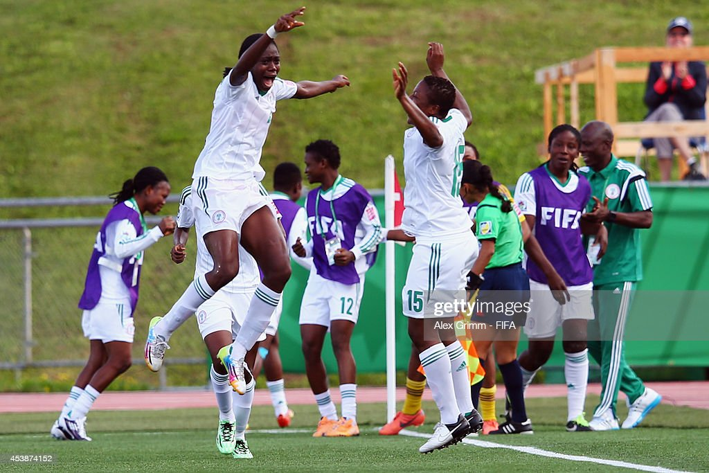 Korea DPR v Nigeria: Semi Final - FIFA U-20 Women's World Cup Canada 2014 : News Photo