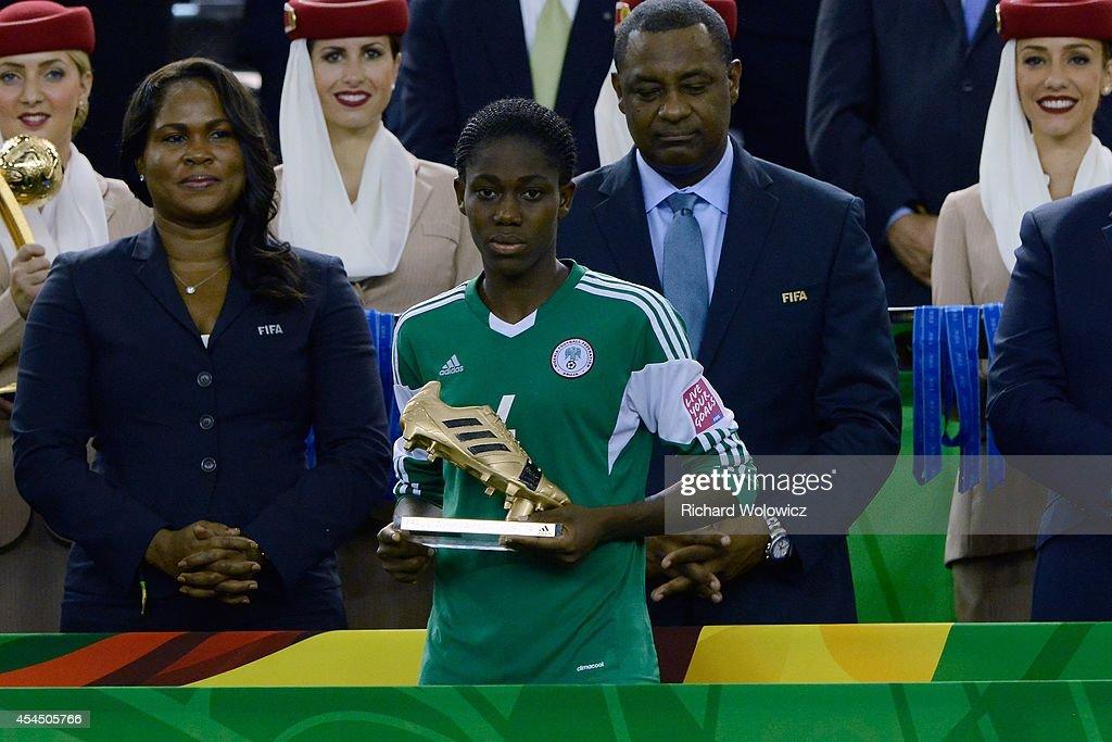 Nigeria v Germany: Final - FIFA U-20 Women's World Cup Canada 2014 : News Photo